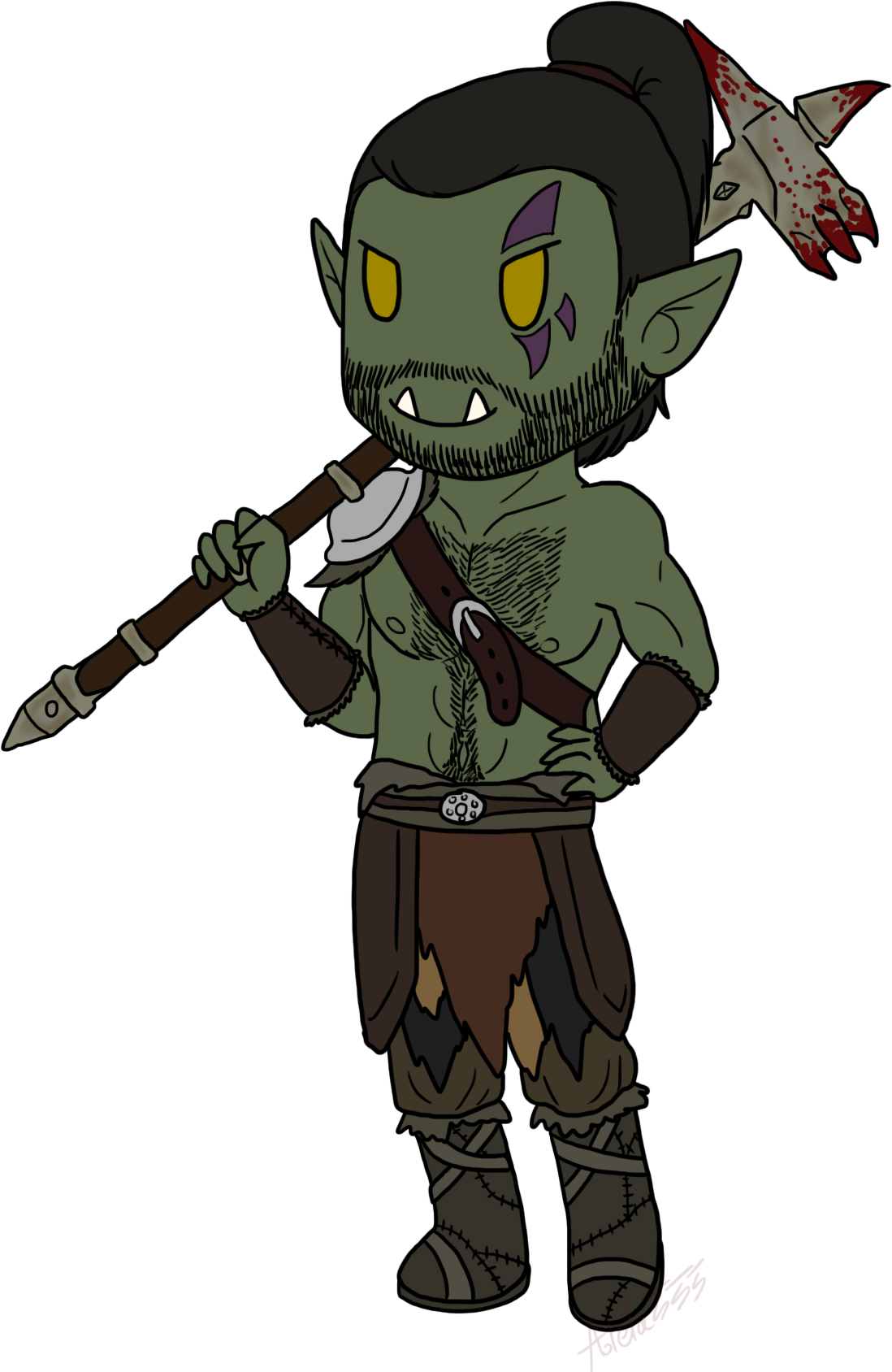 Chibi Grahmal by Adela555