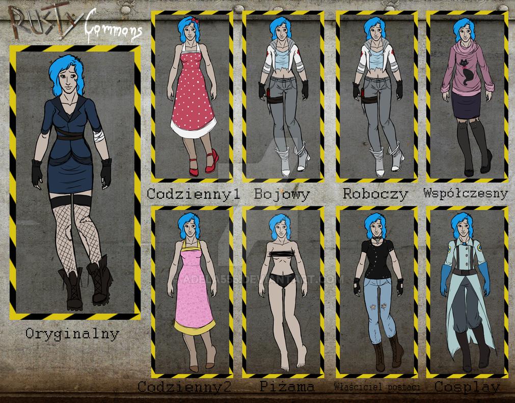 RC - outfit meme Rita by Adela555