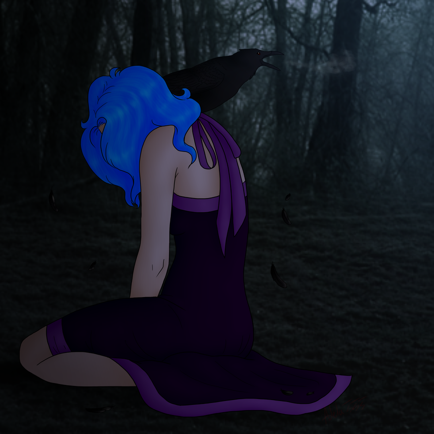 Deep dark forest by Adela555