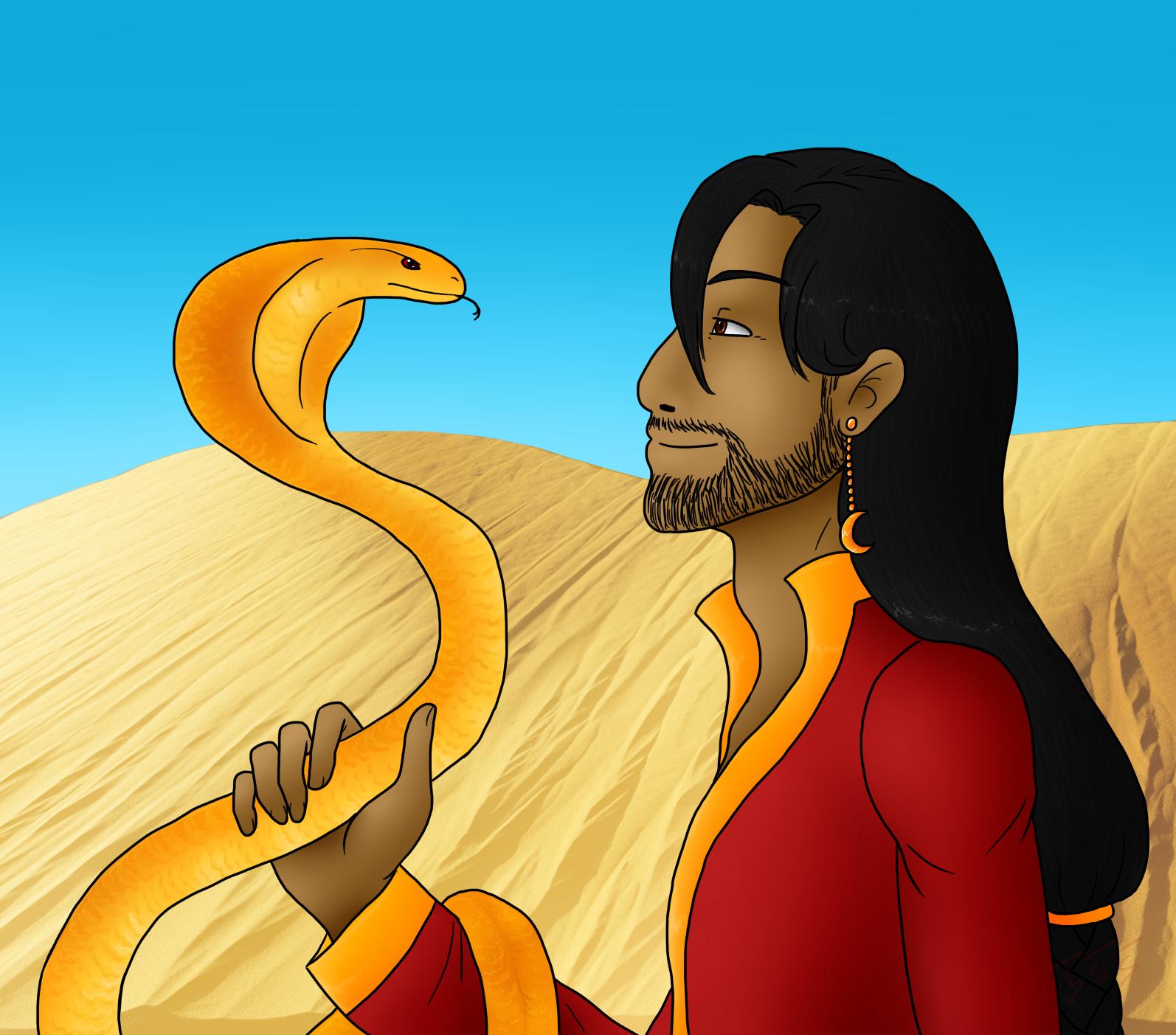 Golden Cobra by Adela555