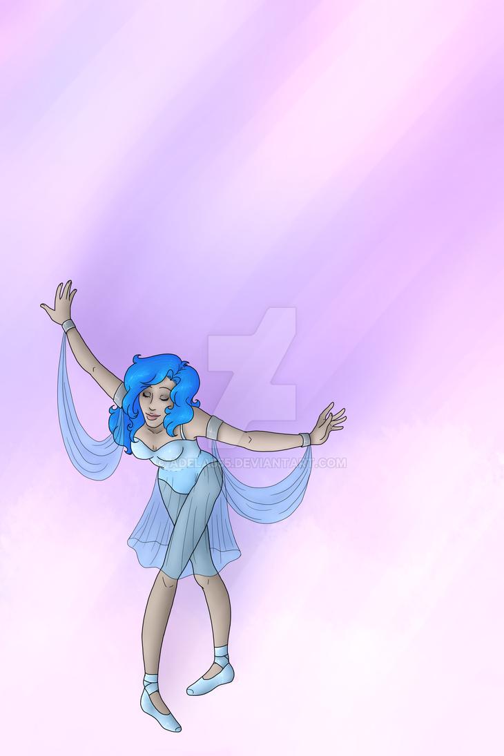 Blue dancer by Adela555