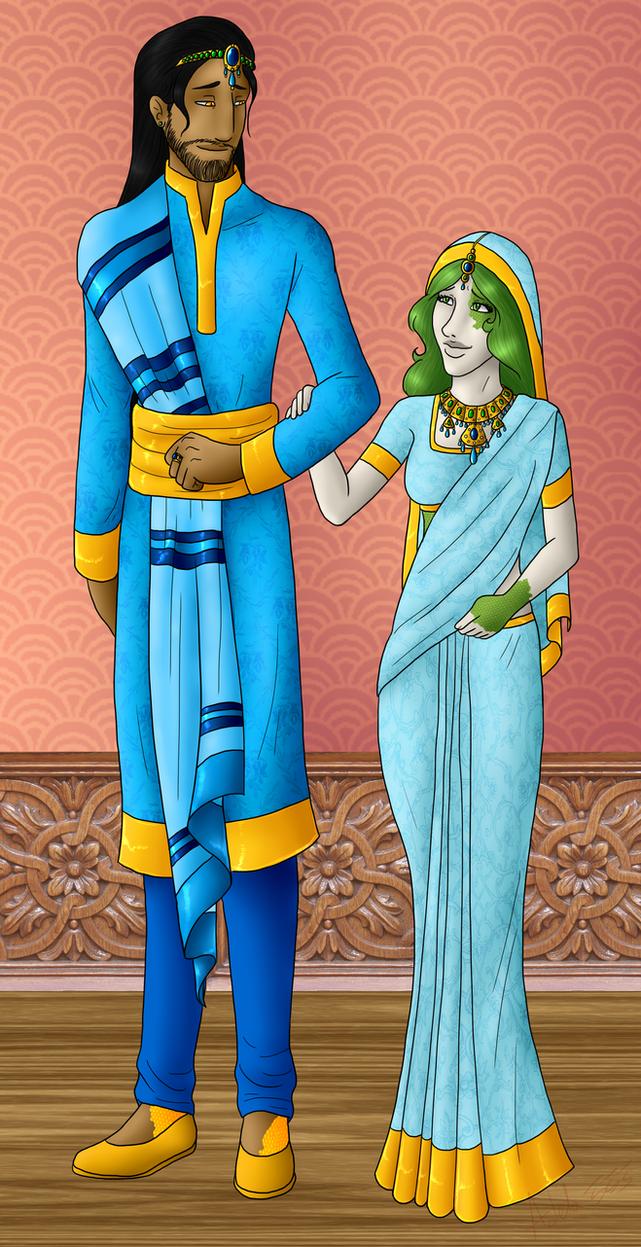 Royal Couple by Adela555