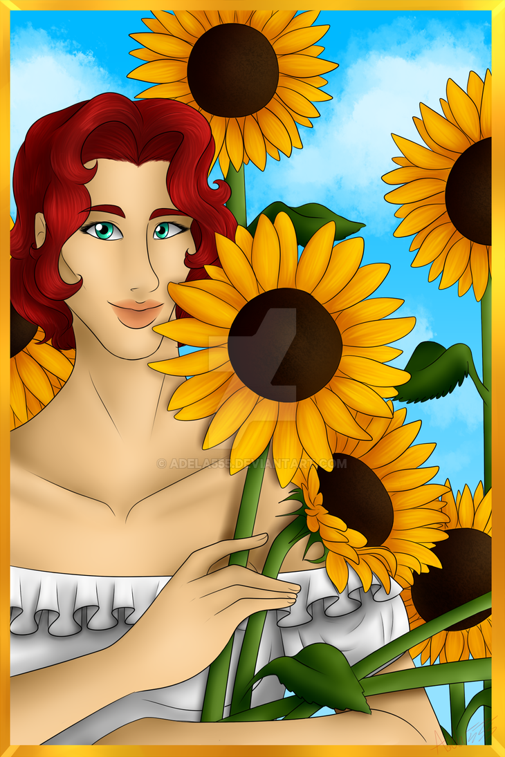 HoF - Sunflower by Adela555