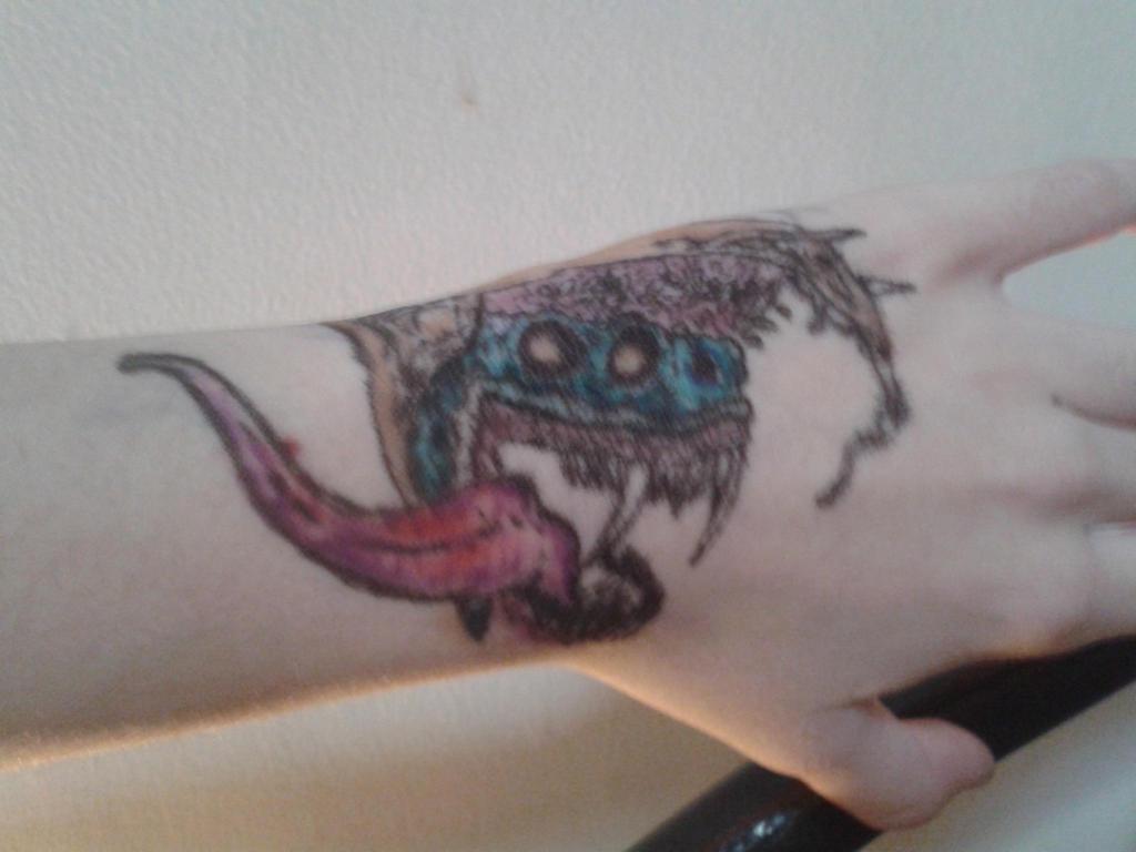 Hyper Beast tattoo by Blassue