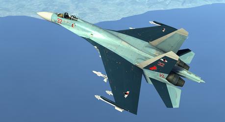 DCS Galm 1 Su-27 Broken Mirror AU by ACZCipher