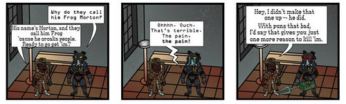 Fallout 2 Comic - Lame Pun by ACZCipher
