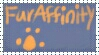 FurAffinity Stamp by Polarbearshygirl