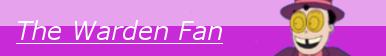 The Warden Fan Button by RavenE20