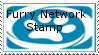 Furry Network Stamp by Polarbearshygirl