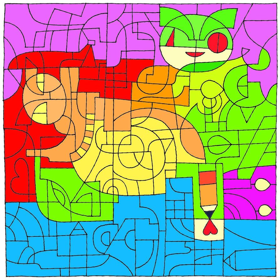 Color Challenge by RavenE20