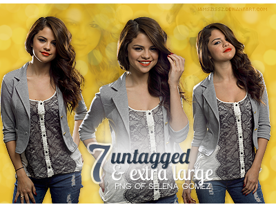 Selena Gomez HQ png pack by iamszissz