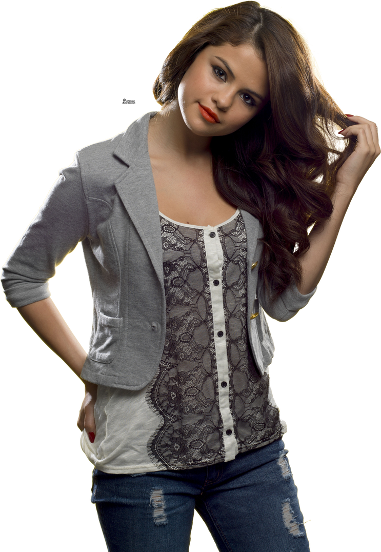Selena Gomez gigantic HQ png 5 by iamszissz