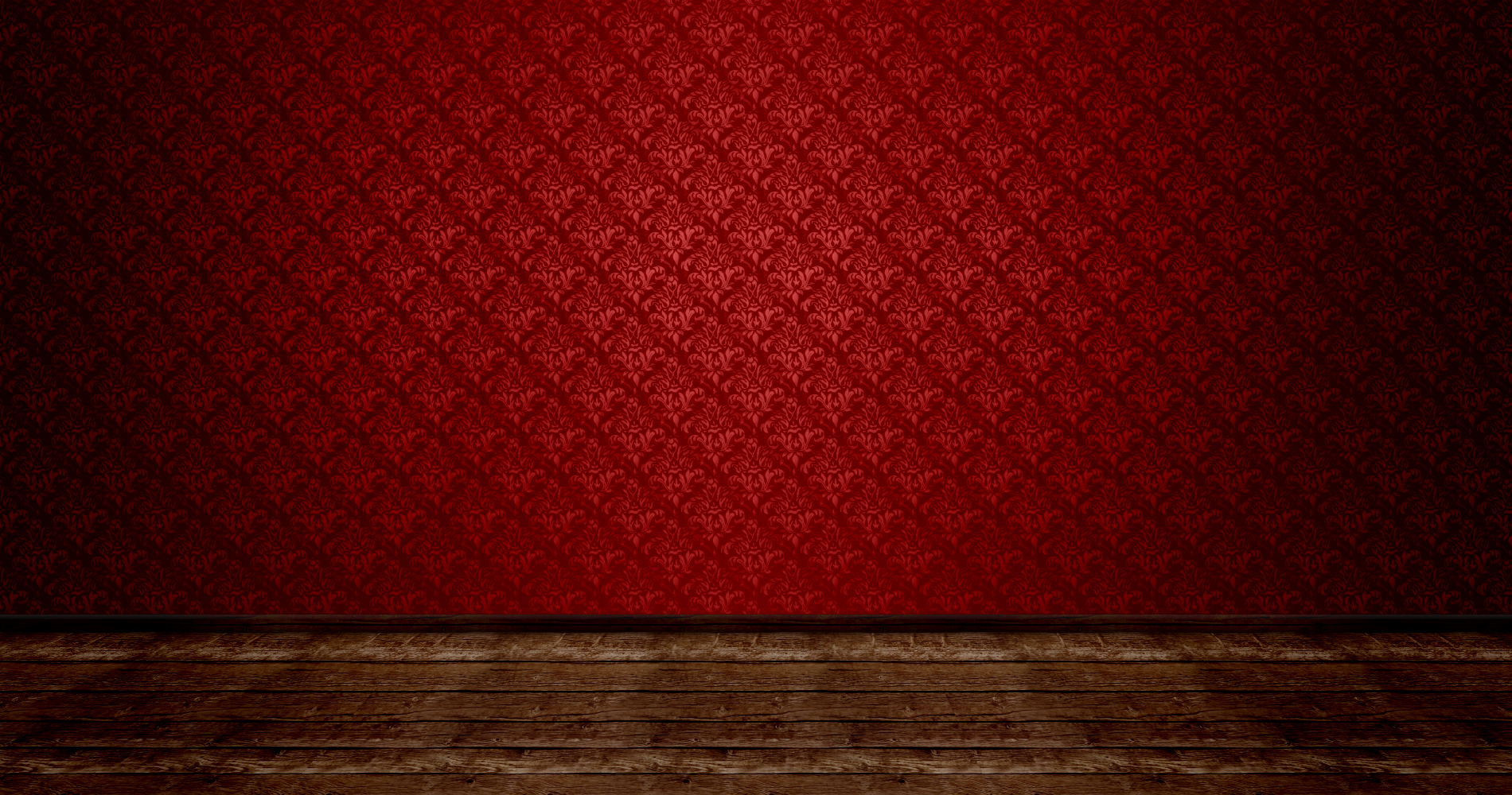 Christmas room empty by iamszissz on deviantart for Red living room wallpaper