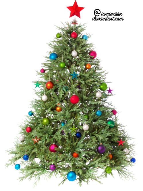 Xmas Tree Png 1 By Iamszissz On Deviantart