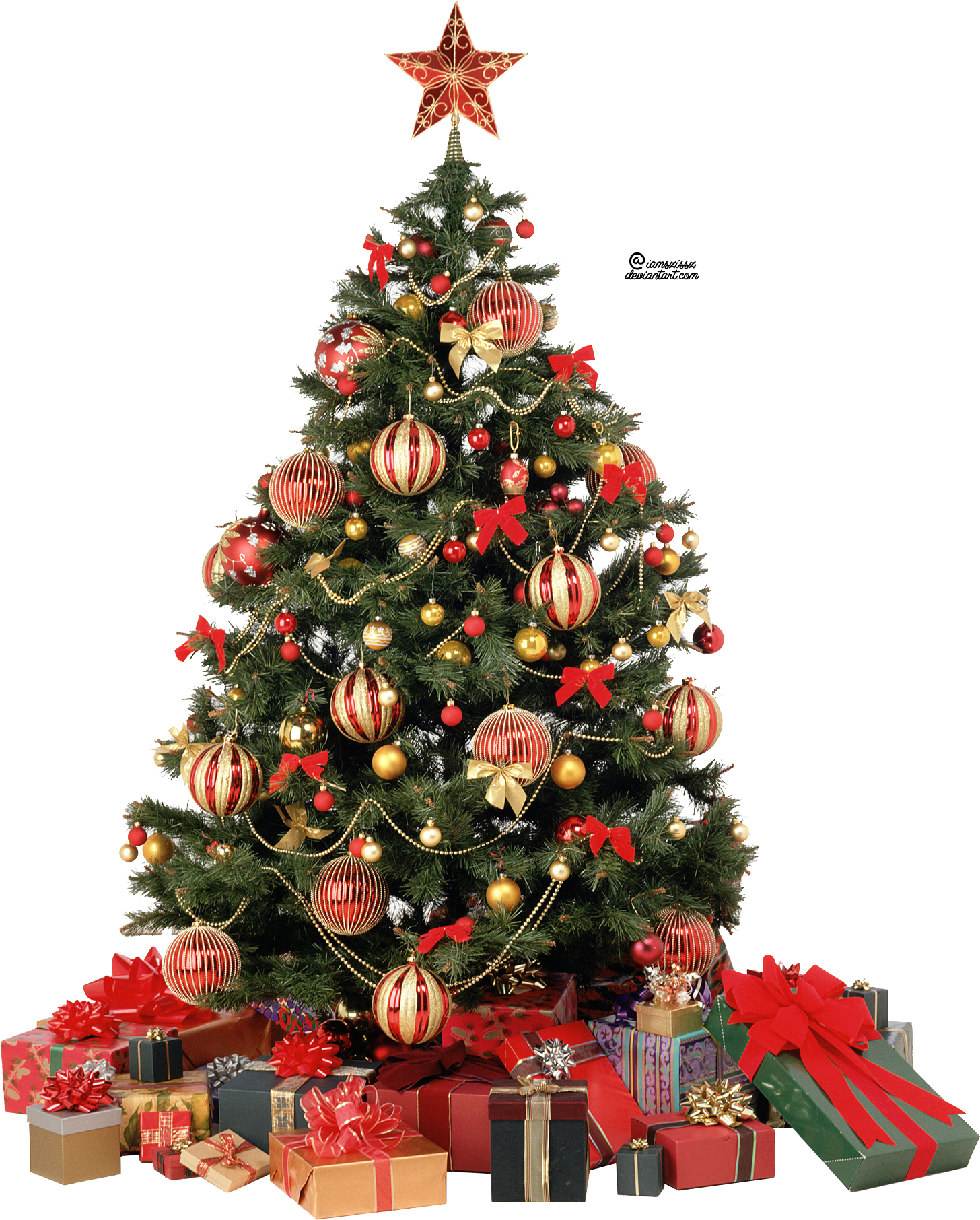 christmas tree with presents png. xmas tree png 6 by iamszissz christmas with presents l