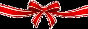 Xmas bow ribbon png 2