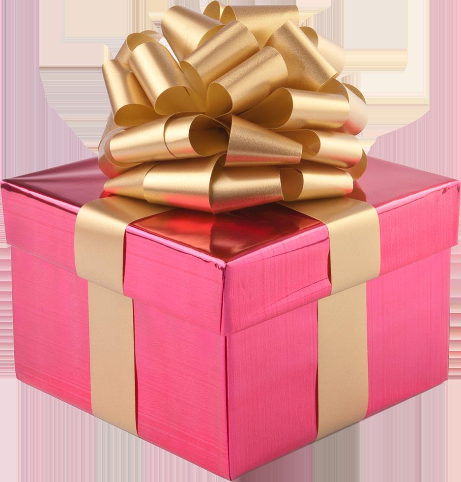 Xmas present box png 2