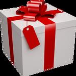 Xmas present box png 3