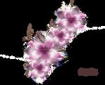 Vector png flower