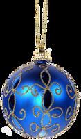 Xmas ornament ball png 2