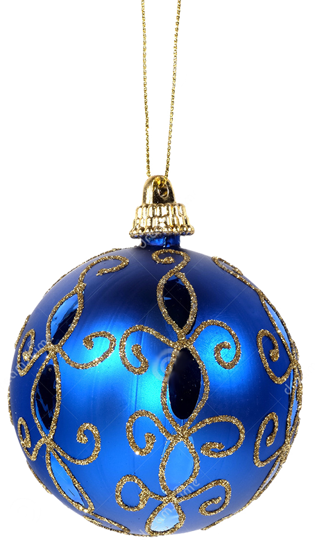 Silver and blue christmas tree decorations - Xmas Ornament Ball Png 2 By Iamszissz On Deviantart