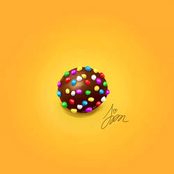 Candy Crush digital painting