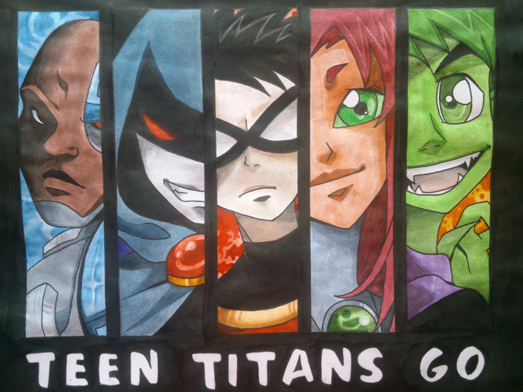 Teen Titans Go! by Elizabeth9330
