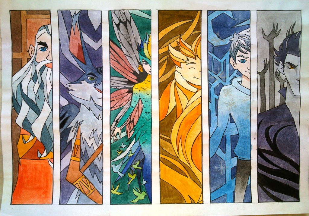 Rise of the Guardians by Elizabeth9330