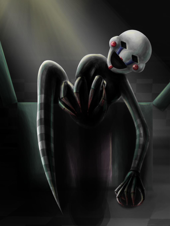 Fnaf puppet marionette by gaminghedgehog on deviantart