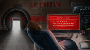 SCP Art: SCP-001 - Access Denined by GamingHedgehog