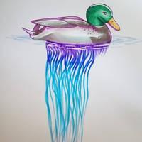 Mermay - duck-o-war by GamingHedgehog