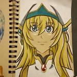 Sketch - priestess