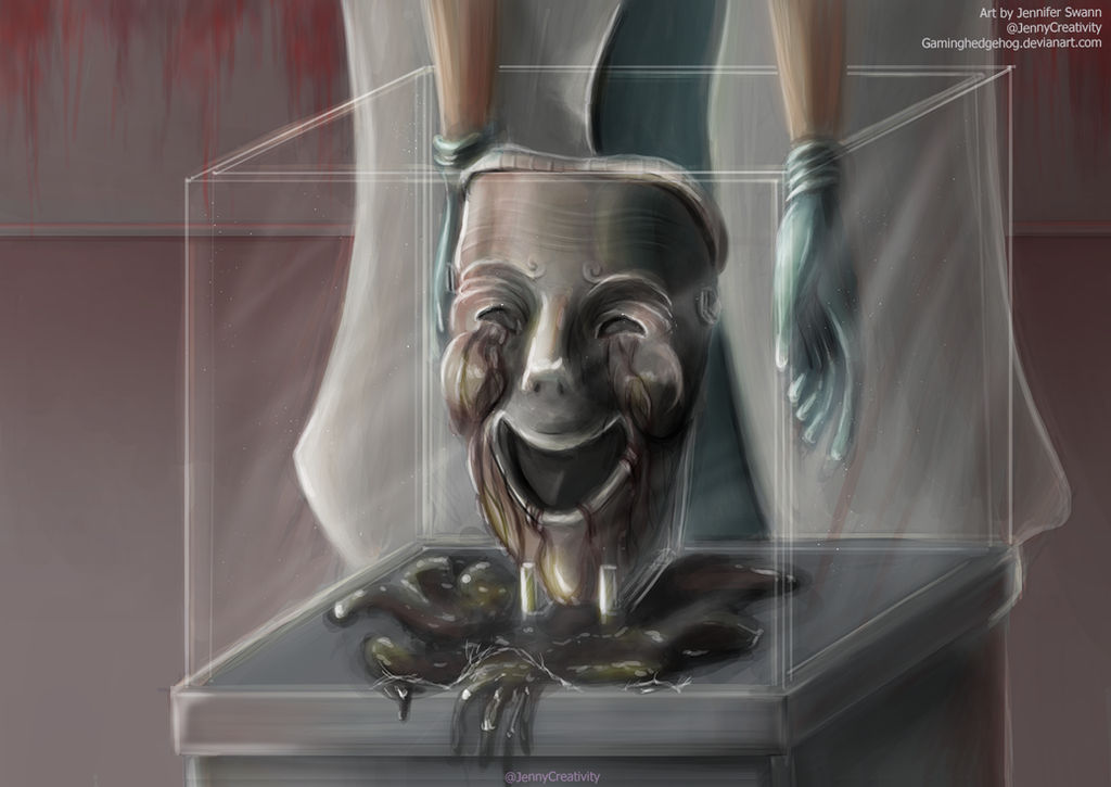 Scp Art Scp 035 Possessive Mask By Gaminghedgehog On Deviantart