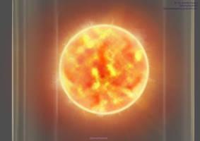 SCP Art: SCP-037 - Dwarf Star by GamingHedgehog