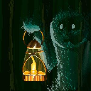 Pixel art daily - lantern