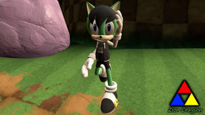 Ashura in Sonic Forces Style