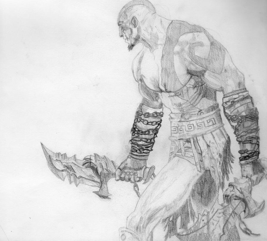 God Of War 2 Kratos By Trediddy97 On Deviantart