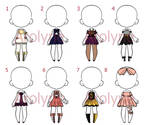 Outfit Adopt Batch 3 (Closed) (Price lowered)