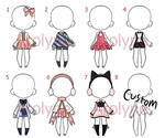 Outfit batch 4 (Closed) (Price lowered)