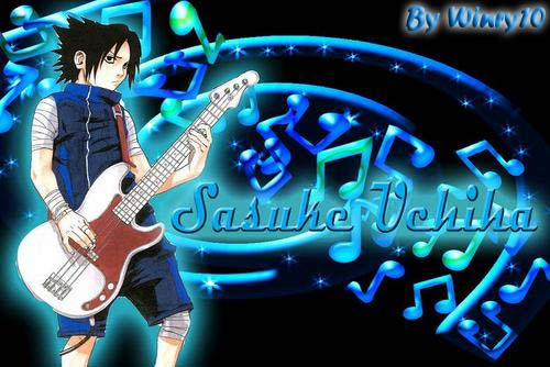 Rock Star Sasuke by SaVi-TR