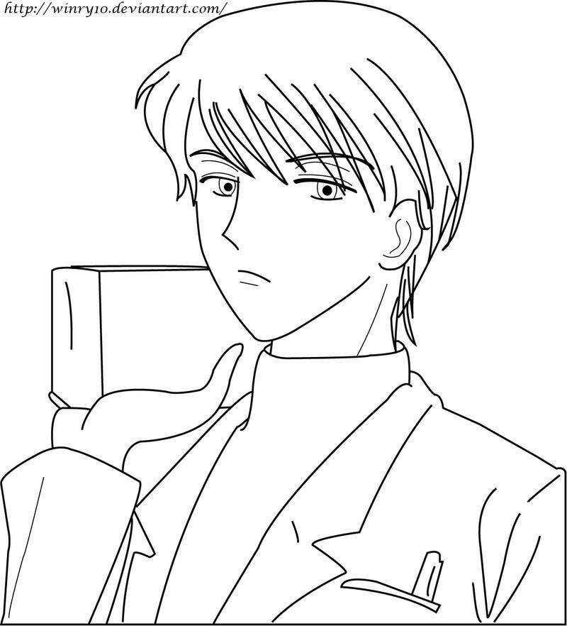 Naoki Irie Lineart By Sayo-TR On DeviantArt