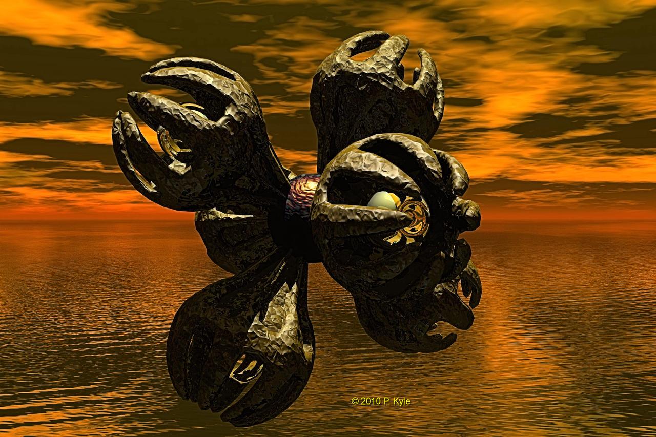 Death Ray of Tetron by fractalyst