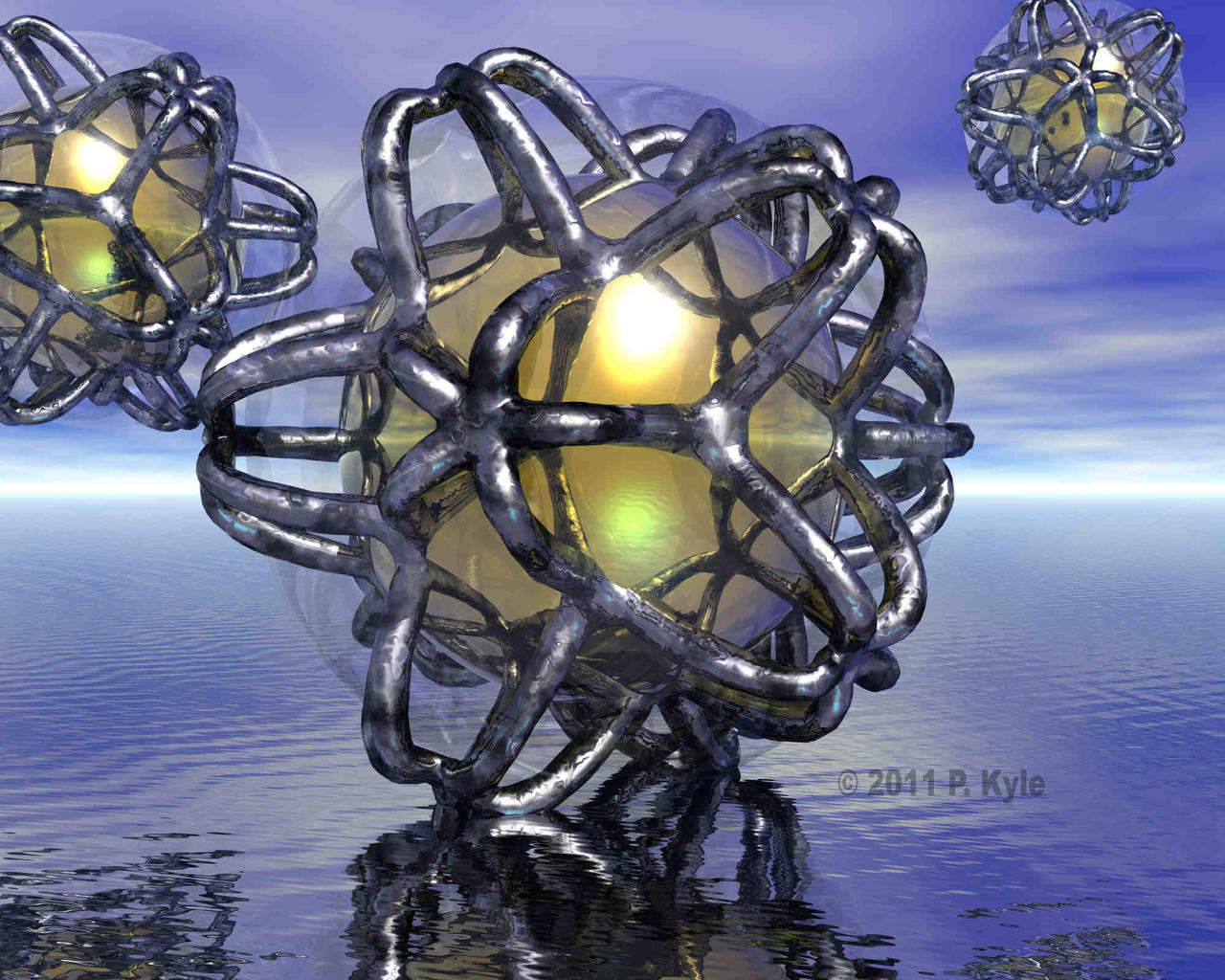 Buckeybots by fractalyst
