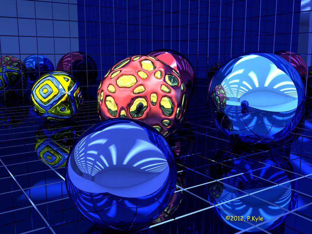 Dark Matter #4 by fractalyst