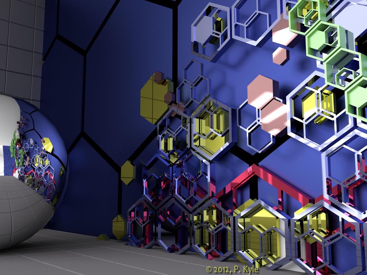 Hex Citypk by fractalyst