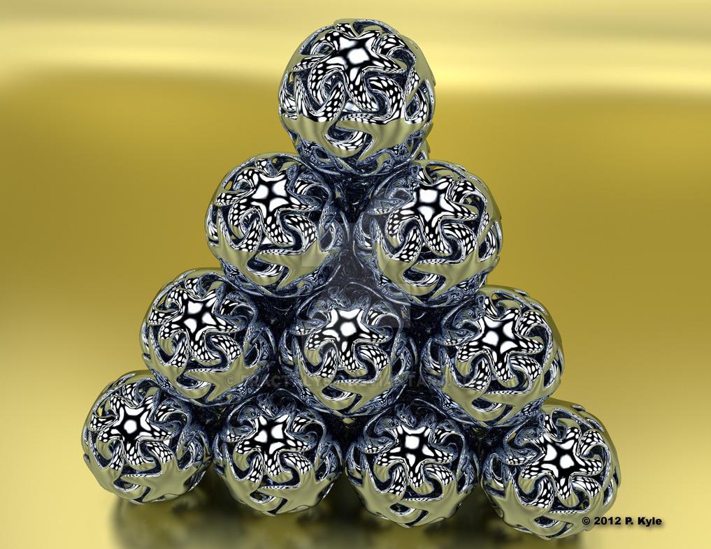 starfishpyramid-part deux by fractalyst