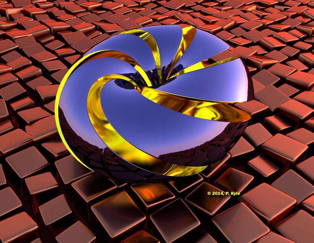 triple twist mobius by fractalyst