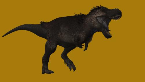 Random T-rex Render by AquaDestroyer