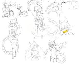 Sketches by IllyaUmaru