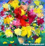 Gestural flowers